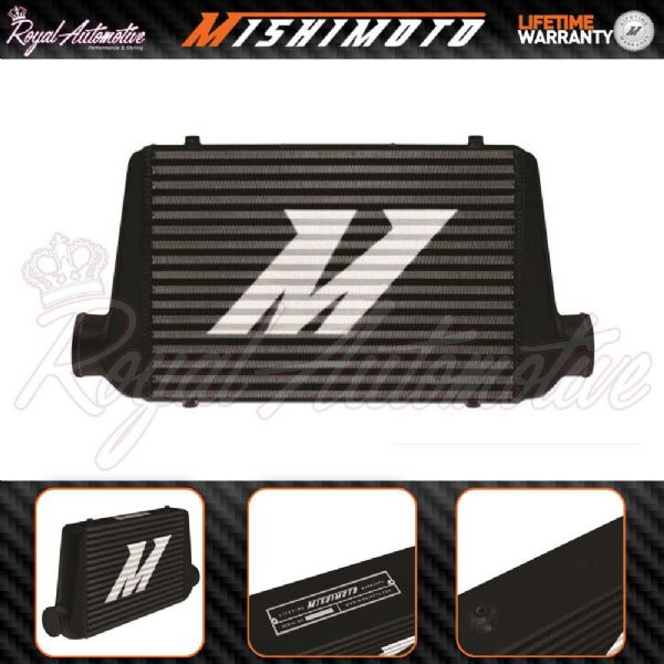 "Mishimoto G-Line Universal Performance Aluminium intercooler Black 3/"" Core Turbo"