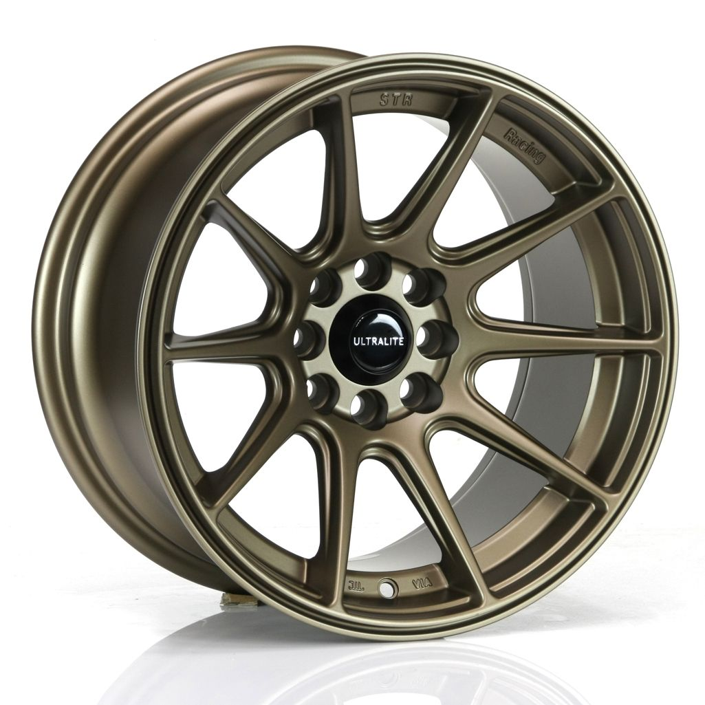 Ultralite Ul11 Wheels 15x8 ET0 4x100 4x108 Flat Bronze